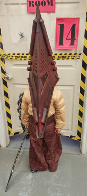 Red Pyramid from Silent Hill